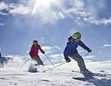 Skifahrer auf der Wurzeralm
