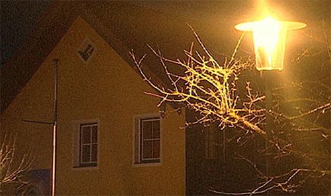 Überwachungsstaat durch Straßenbeleuchtung Schleedorf