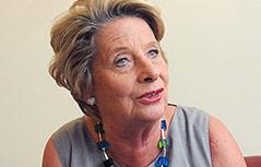 Die Bezirksvorsteherin des ersten Bezirks von Wien, Ursula Stenzel
