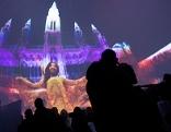 Präsentation der 360-Grad-Multimediashow im ViennaSphere Dome