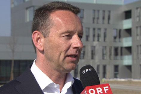 Herbert Ortner, Vorstandsvorsitzender von Palfinger