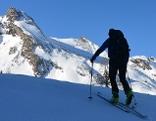 Skitouren Skibergsteiger Skibergsteigen Tourengehen