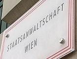 Schild Staatsanwaltschaft Wien