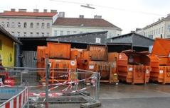 Baustelle Yppenplatz