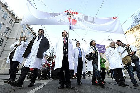 Demo der Ärzte