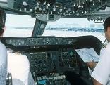 Blick in ein Cockpit