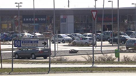 Einkaufspark in Eisenstadt