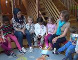 Flüchtlingskinder im Kindergarten in St. Pölten