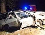 Unfallauto in Laakirchen
