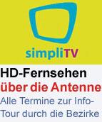 Simpli-TV-Informationstour die Bezirke
