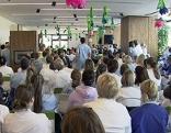 Betriebsversammlung in den SALK