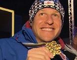 Bernhard Gruber Festakt in Hofgastein nach WM-Gold