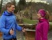 Doresia Krings und Michael Mayerhofer im Fernsehgarten.