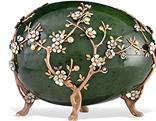 """""""Apfelblüten-Ei"""" von Fabergé."""
