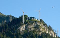 Windkraft am Karren
