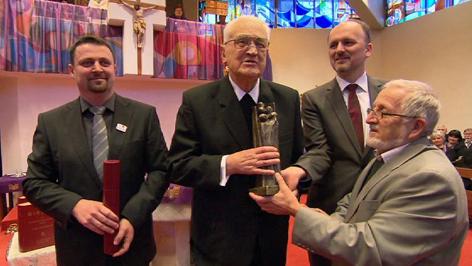 Štefan Geošić primio Kulturnu nagradu