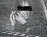 Radarfoto Frau telefoniert beim Autofahren