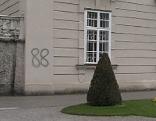 Nazi Schmiererei Rechtsradikale Schloss Mirabell 88