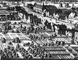 Die Alservorstadt vor der Zweiten Türkenbelagerung (Vogelschau von Wien, Folbert van Ouden-Allen (1683))