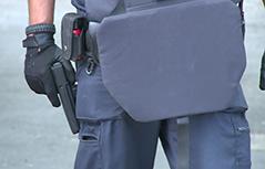 Polizeieinsatz nach Drohung gegen AMS Villach<br /> <br /> Cobra