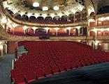 Fotomontage, Tribüne des Volkstheaters