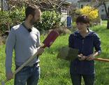 Gut gepflanzt Gartenwerkzeug
