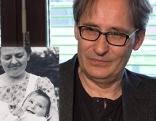 Gerhard Pohl als Baby mit Kinderdorfmutter/als Erwachsener