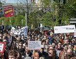 Kundgebung gegen TTIP