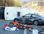 Unfall mit Wohnmobil