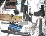 sichergestellte Waffen