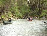 Mit dem Kanu auf der Raab