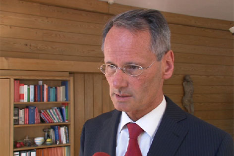 Alois Lanz, Bezirkshauptmann des Bezirks Gmunden