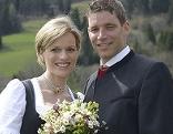 Hochzeitsfoto von Marlies Schild und Benni Raich
