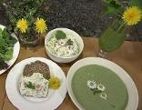 Wildkräuter Suppe