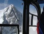Hubschrauber im Hochgebirge