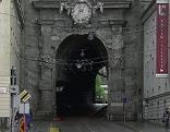 Das Neutor (Sigmundstor) in der Salzburger Altstadt