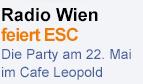Radio Wien feiert Song Contest-Party
