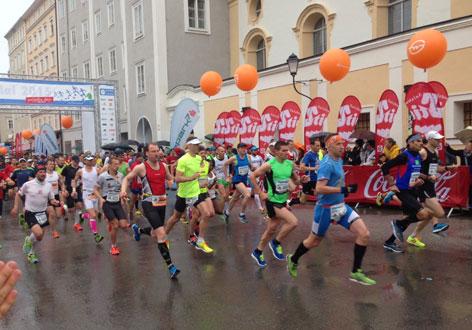 Start Salzburg Marathon 2015