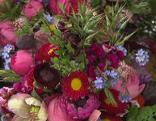 Gut gepflanzt Brautstrauß