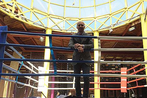 Dennis Dewall in der Box Arena