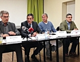 Pressekonferenz des Bündnis Liste Burgenland