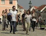 ESC-Journalisten erkunden Eisenstadt