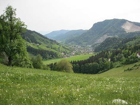 Görtschitztal Landschaft St. Oswald Eberstein