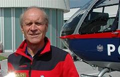 Robert Jölli bei seiner Verabschiedung in die Pension