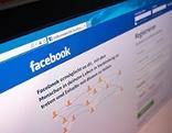 Facebook-Startseite