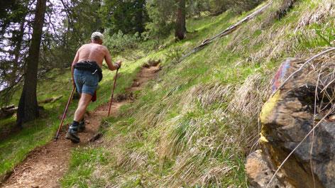 Wanderung Gratlspitz Am Steig