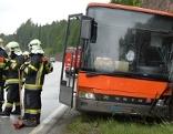 Busunfall auf Brennerstraße