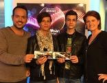 Gewinner der Song Contest Finaltickets mit Patrick Budgen und Ulrike Dobes