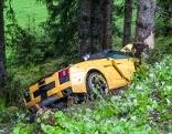 Unfall Paßthurnstraße Lamborghini