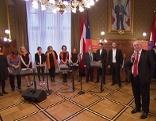 Häupl und Radio Wien-Chor